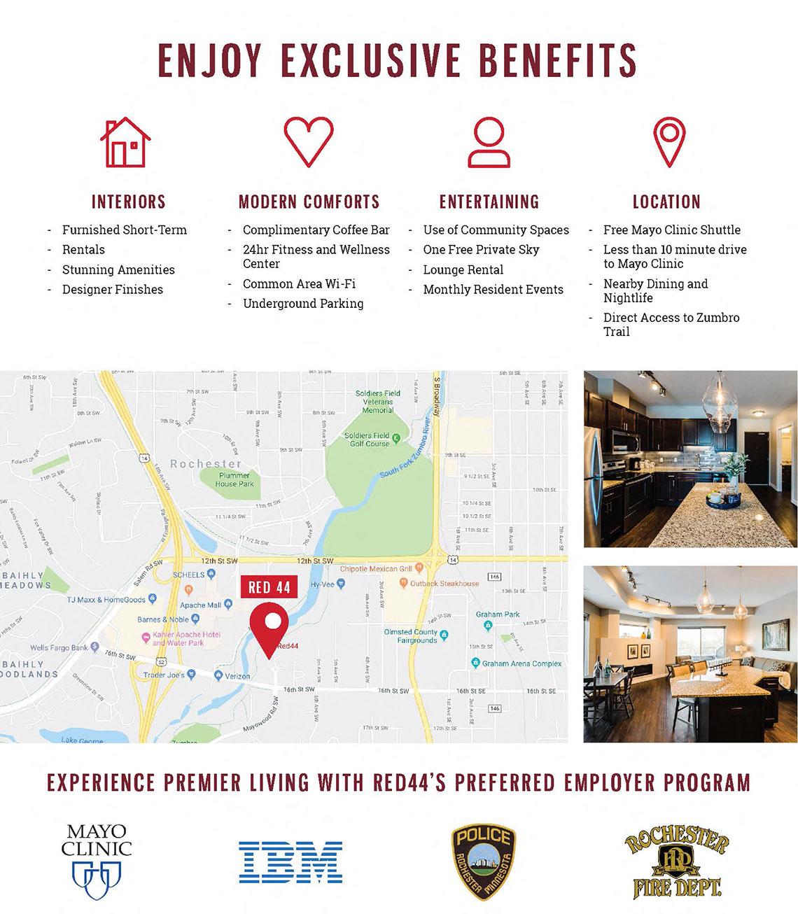 Exclusive Benefits