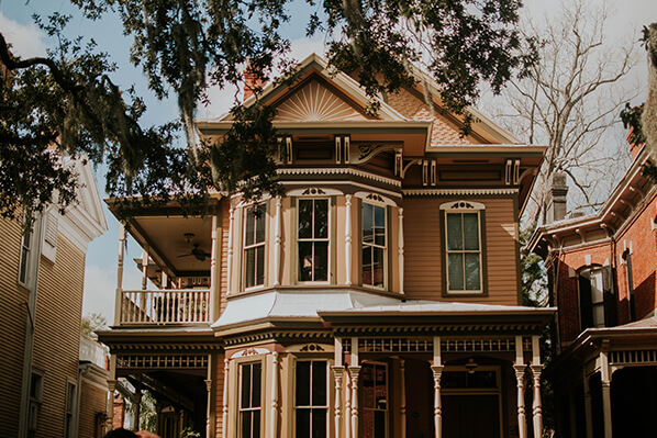 Victorian house museum
