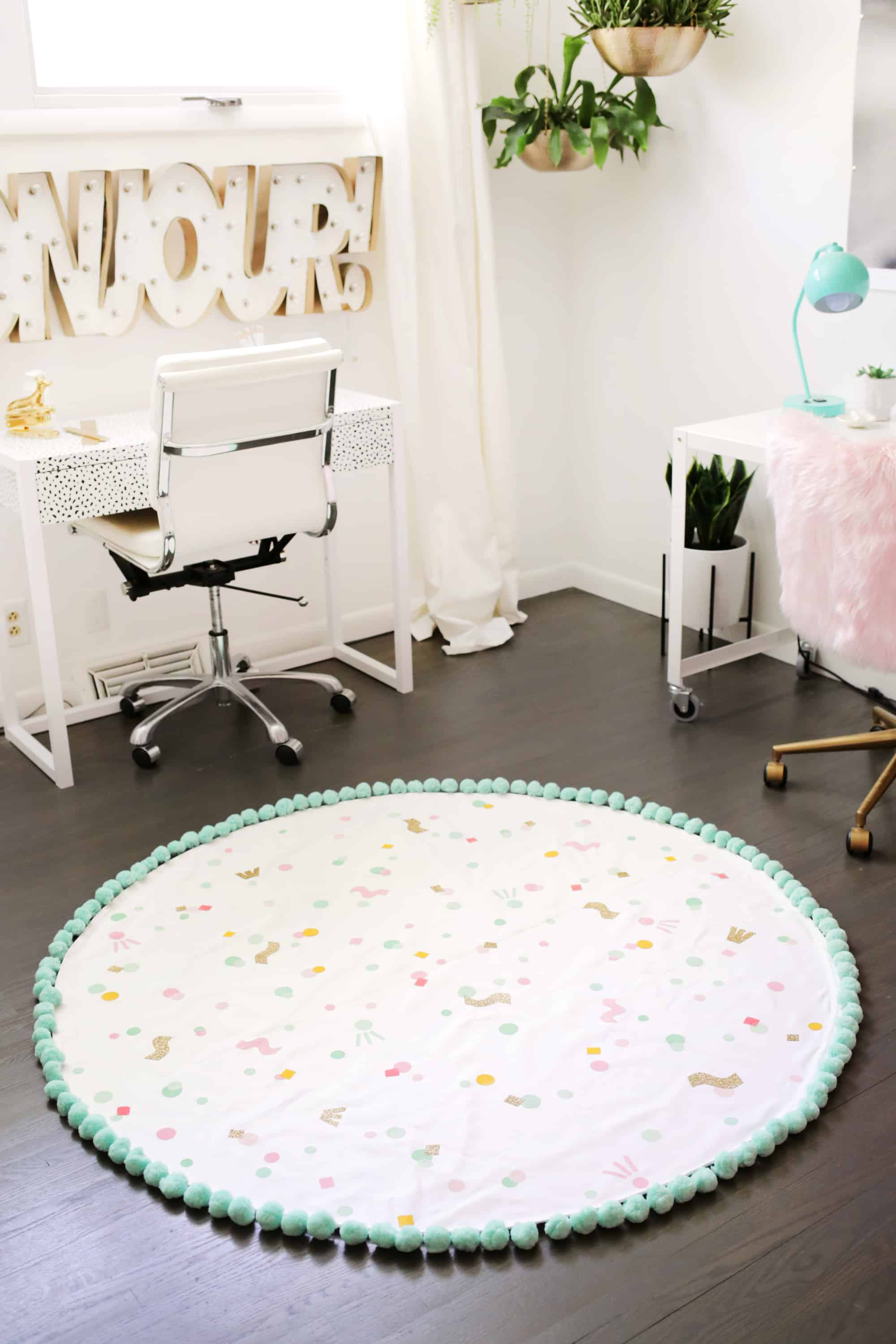 DIY Washable Rug