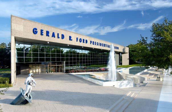 gerald r ford museum grand rapids michigan