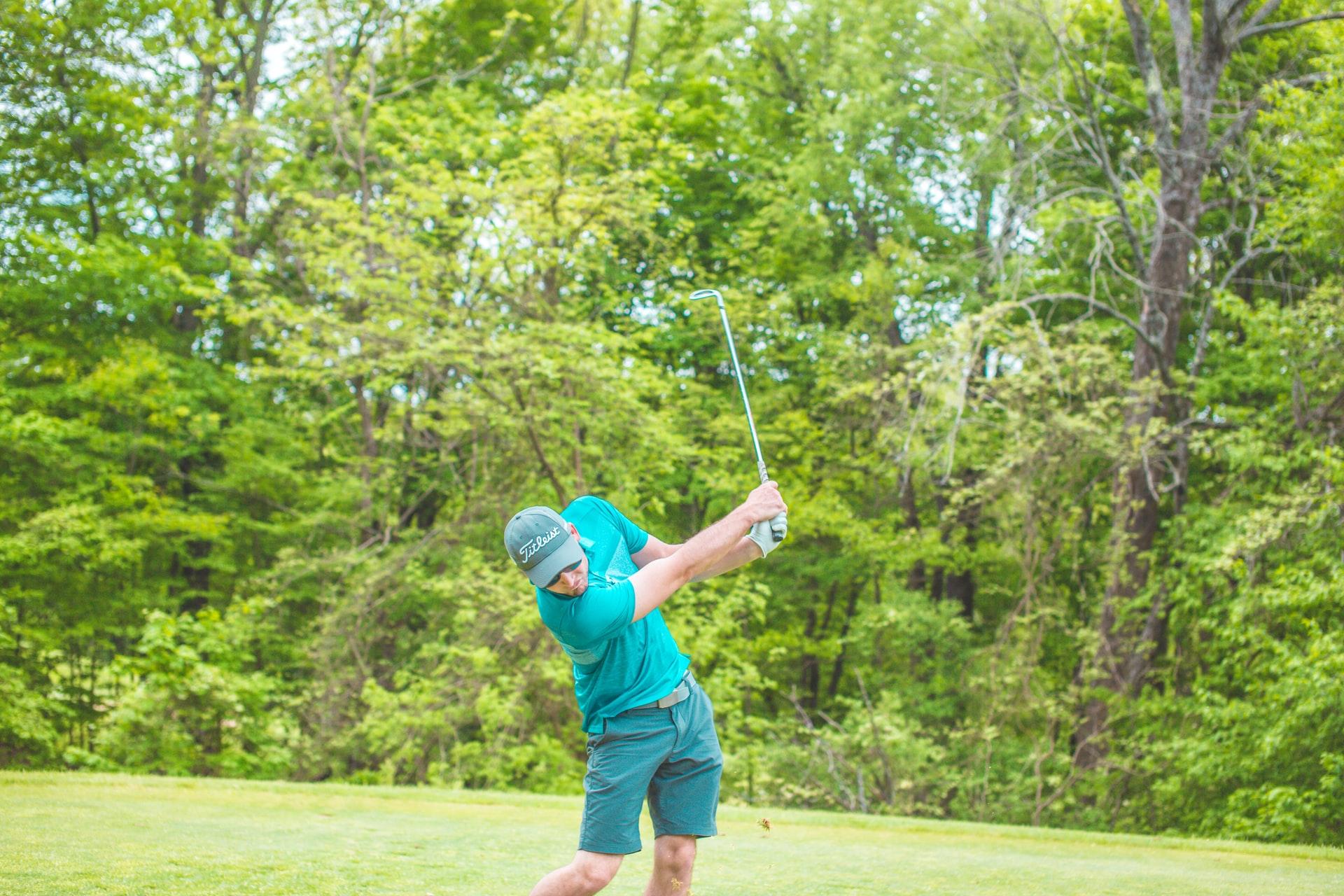 golfer at Golf Range & Pro Shop