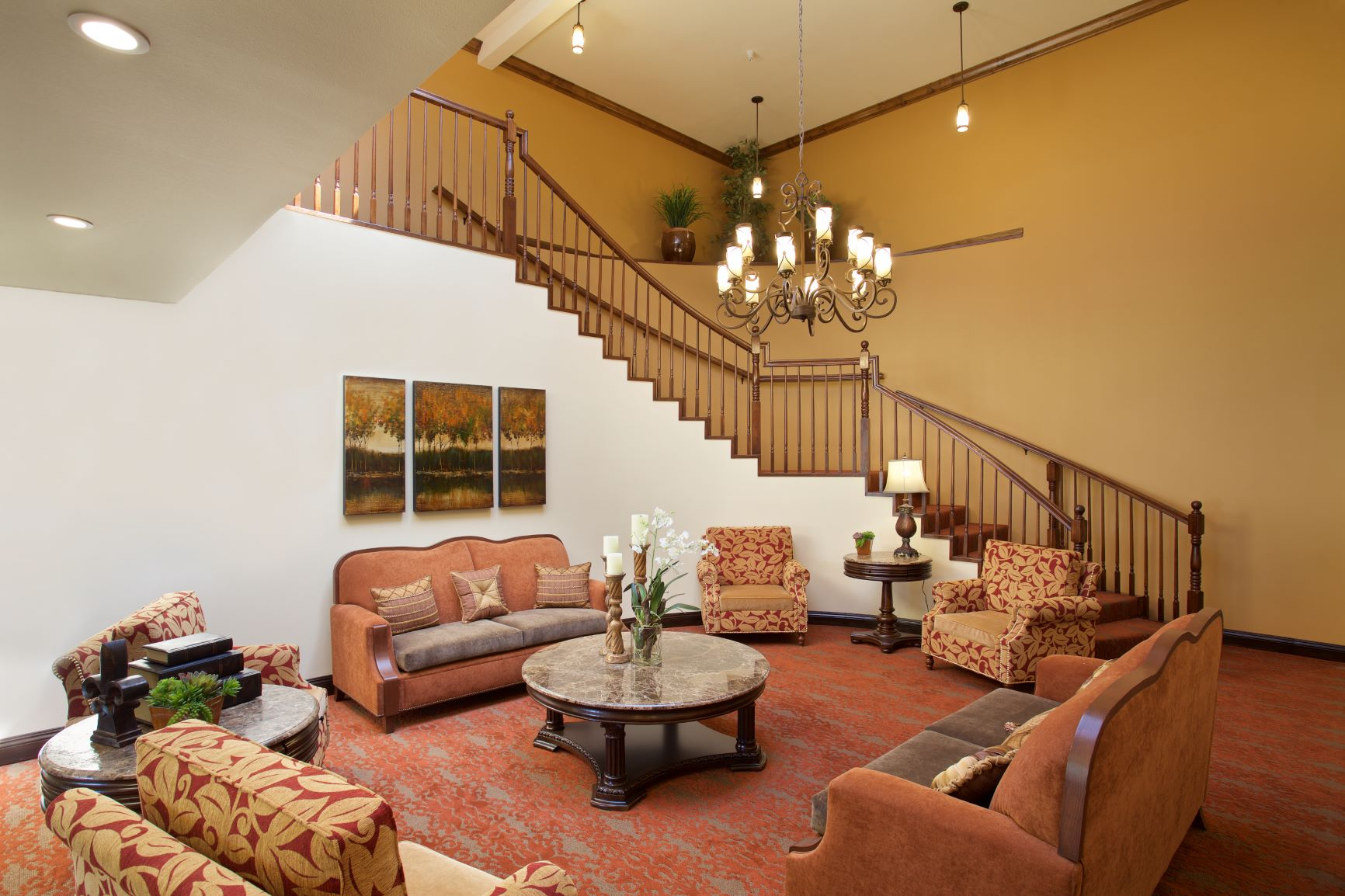 The relaxing luxury of Pacifica Senior Living Escondido.