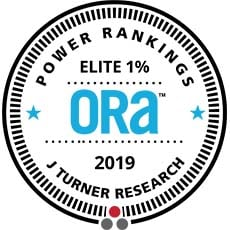 2019 ORA Elite 1% Award - J Turner Research