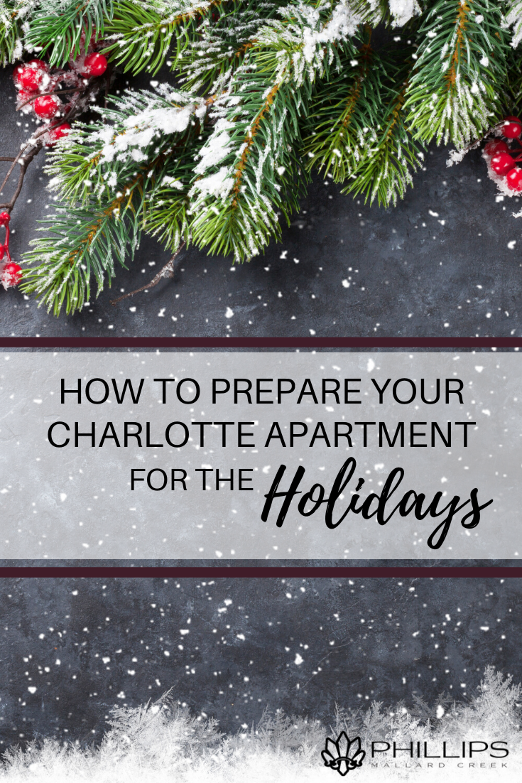 How to Prepare Your Charlotte Apartment for the Holidays | Phillips Mallard Creek