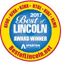 2017 Best of Lincoln Award Winner
