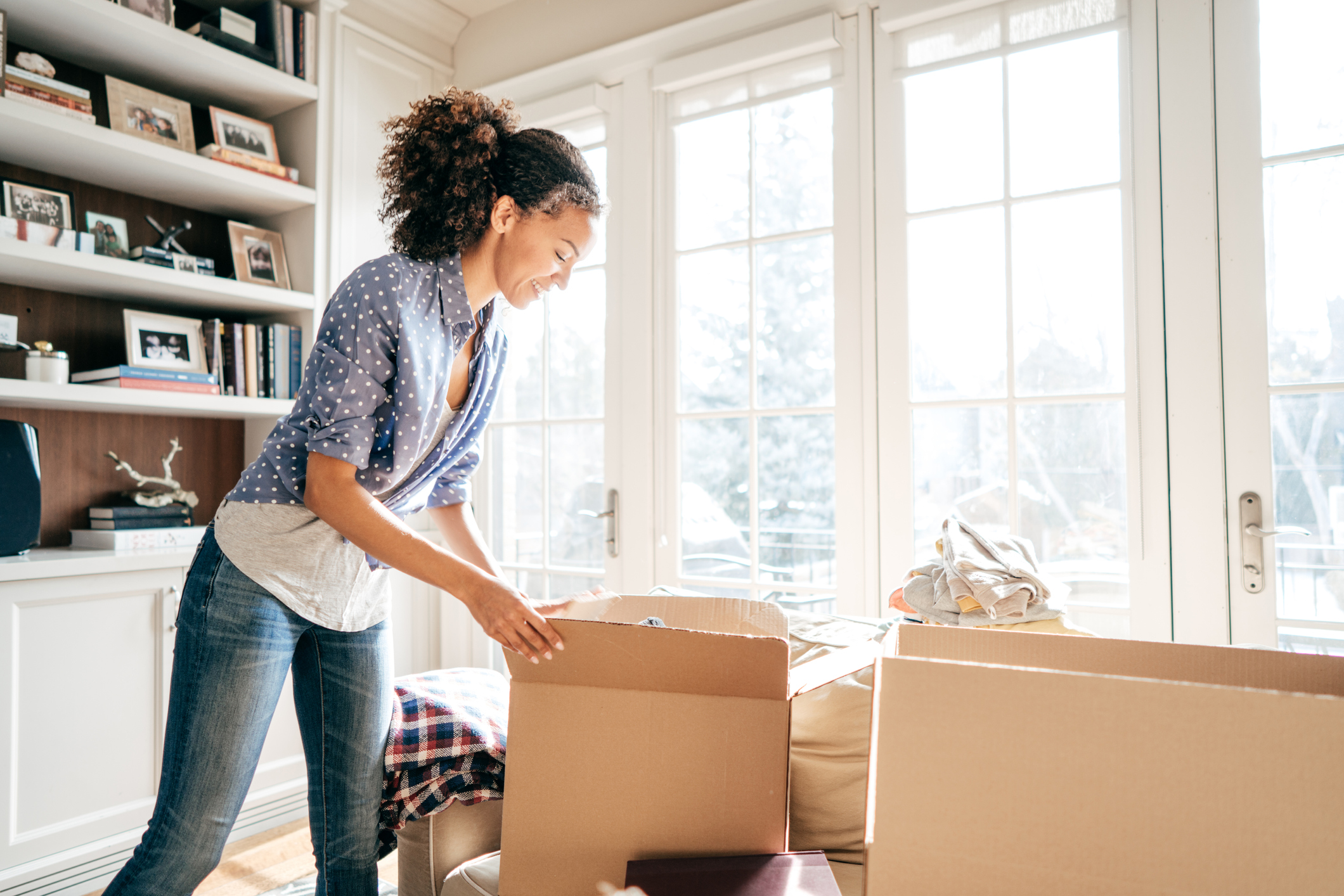decluttering your apartment