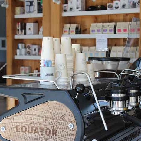 An image of Equator Coffee Roasters' location