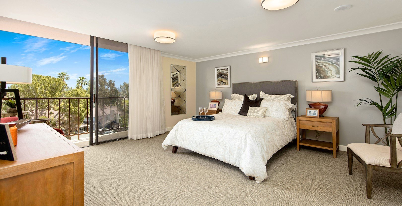 One of our beautiful apartments at Meridian at Laguna Hills.