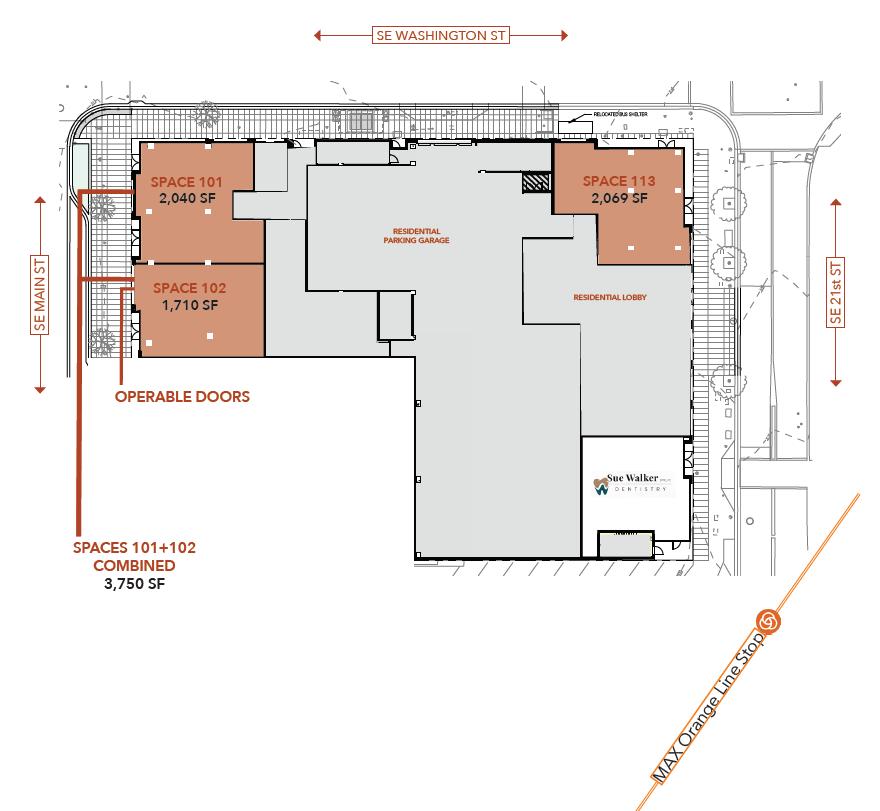 Axletree Commercial Space Floorplan