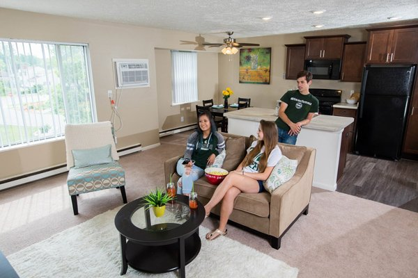 Woodbrook Village Apartments in East Lansing, Michigan