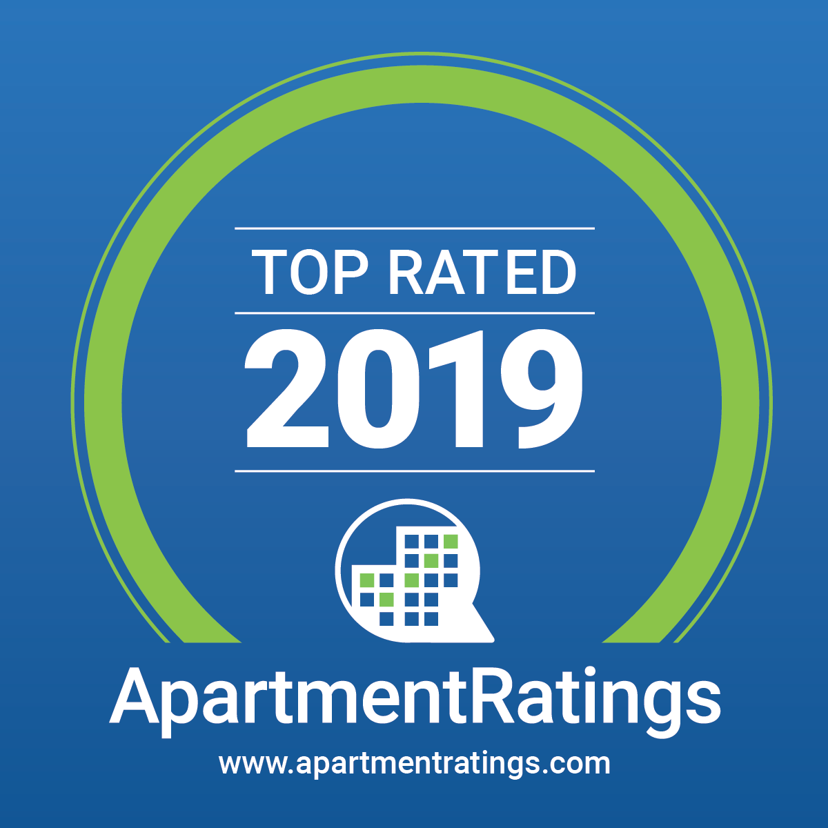 ApartmentRatings Top Rated Awards Logo