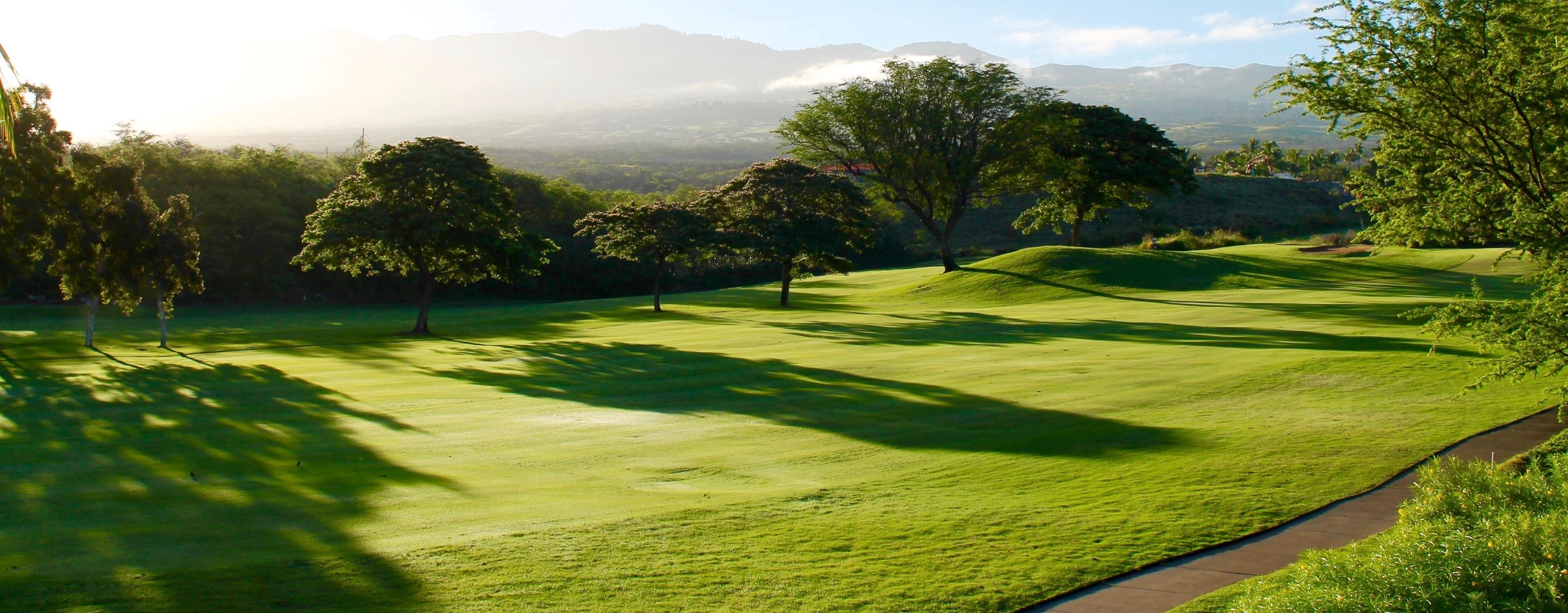 Enjoy a round of golf at our nearby world-class course at The Park Lane.
