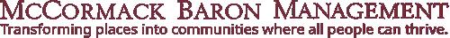 McCormack Baron Management text logo