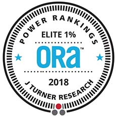 2018 ORA Elite 1% Award - J Turner Research