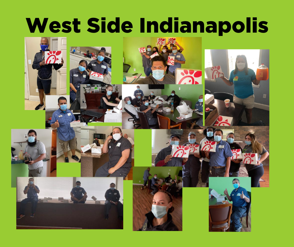 West Side Indianapolis Teams during the NAA Apartment Onsite Teams Day