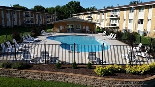 Apartment Complex Swimming Pool