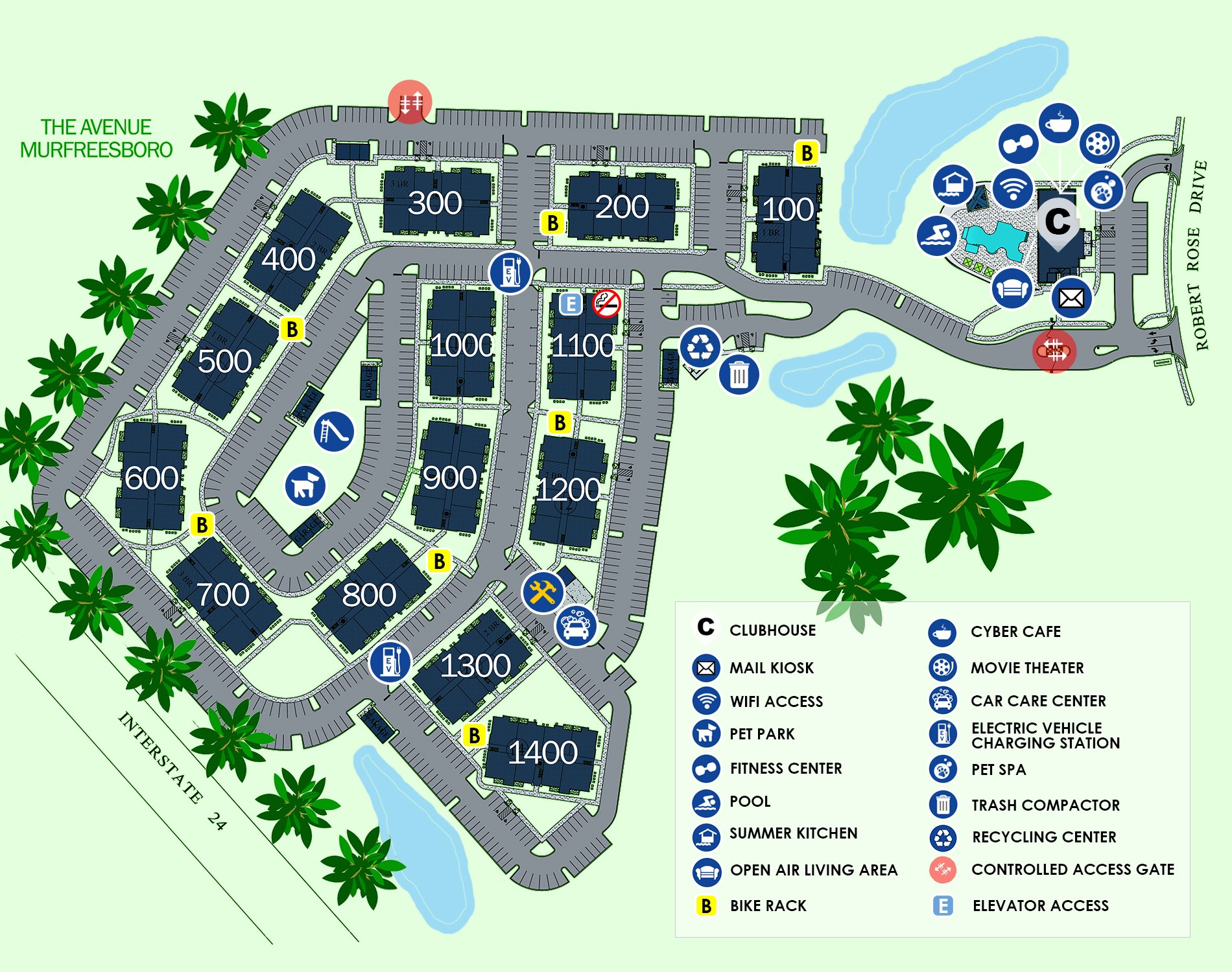 Everwood Community Site Map