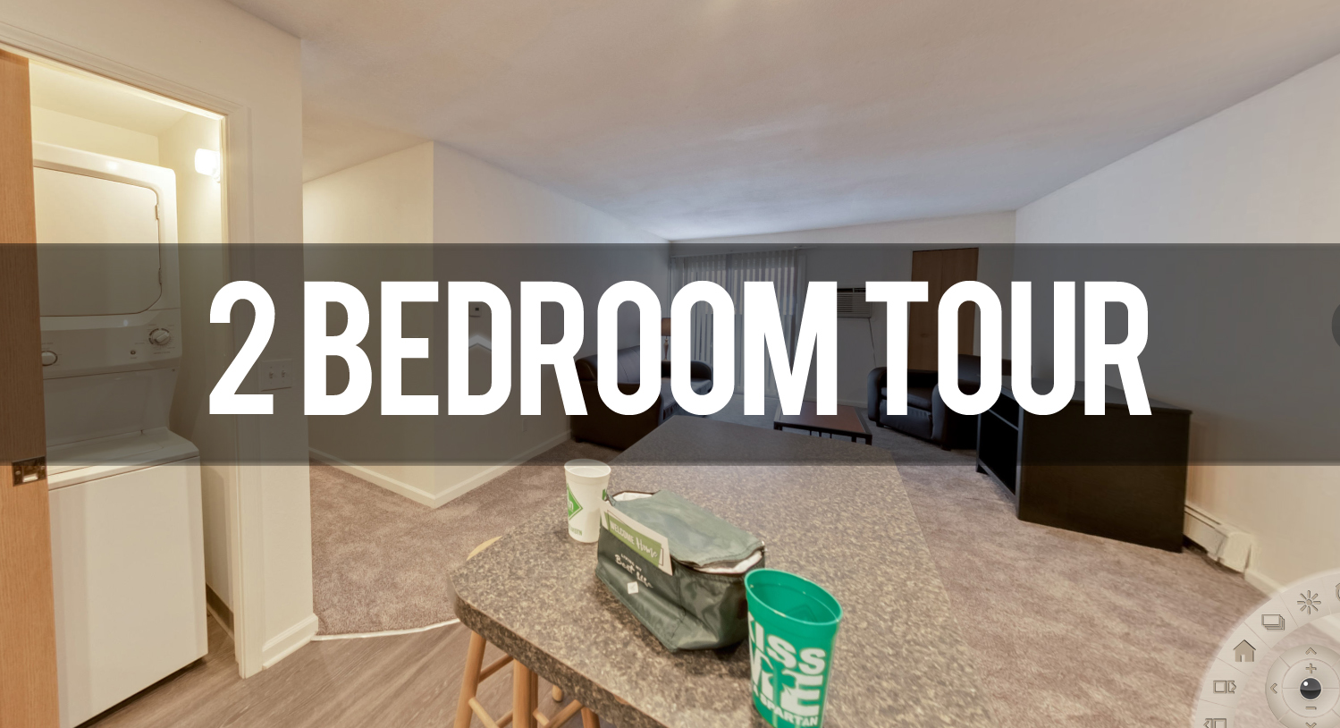 Virtual Tour of Haslett Arms Apartments in East Lansing | Michigan State University Apartments