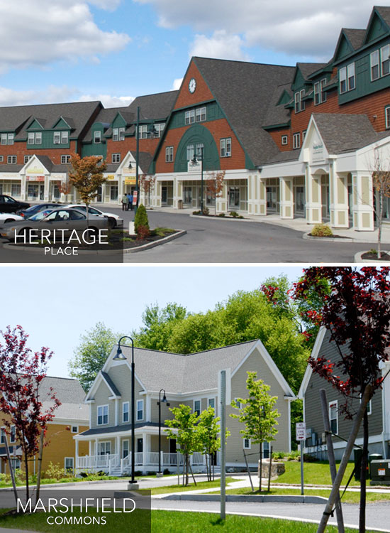 Heritage Place and Marshfield Commons