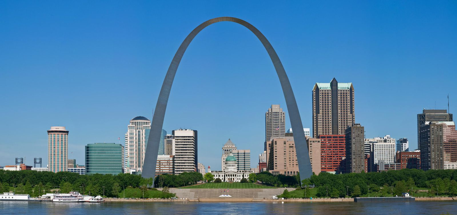 The Gateway Arch St. Louis Missiouri