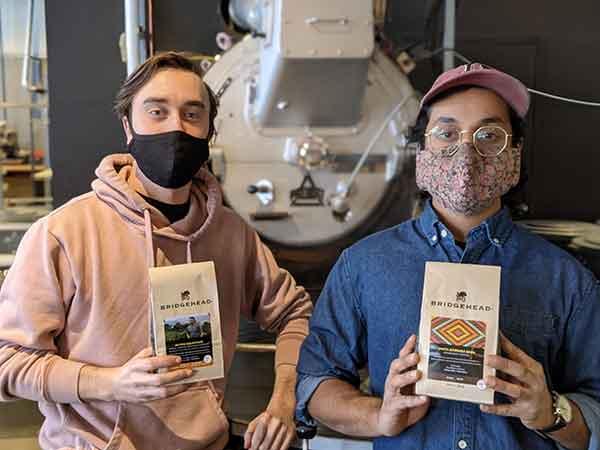Bridghead Coffee team