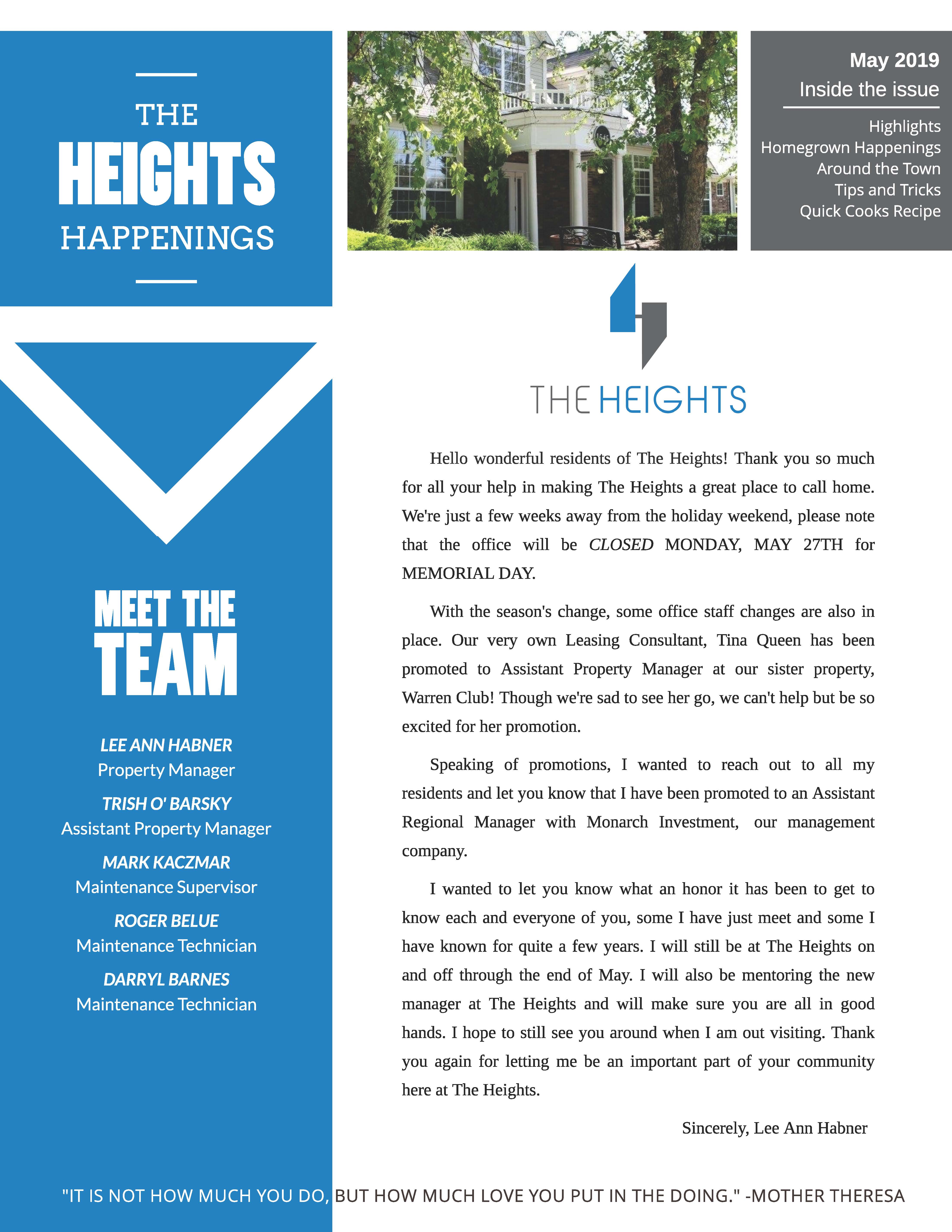 The The Heights Community