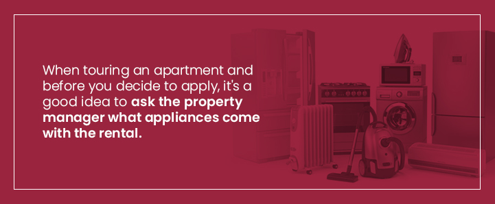 what appliances are included