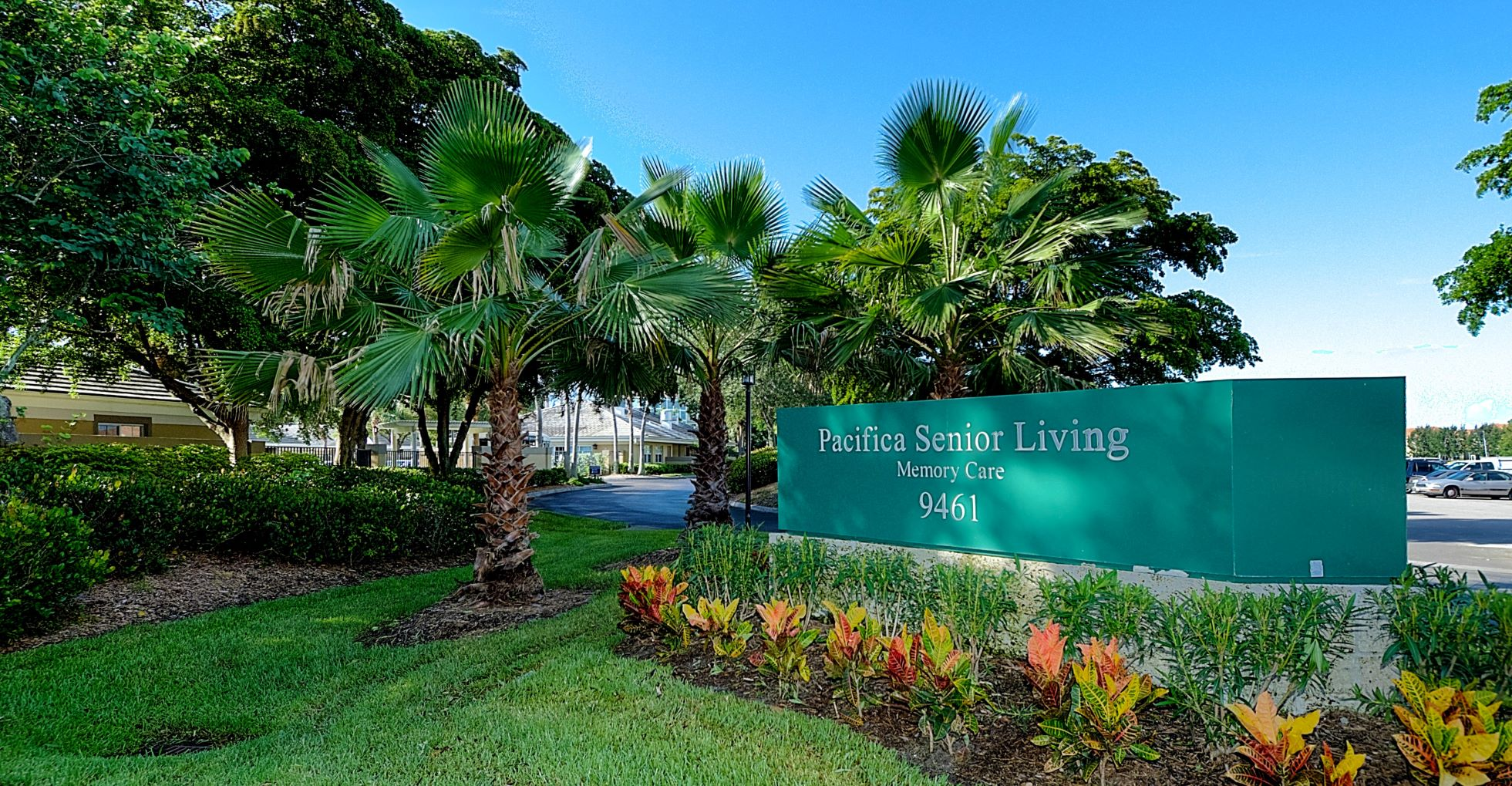 The lovely Pacifica Senior Living Fort Myers.