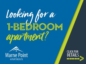 marne point one bedroom apartments