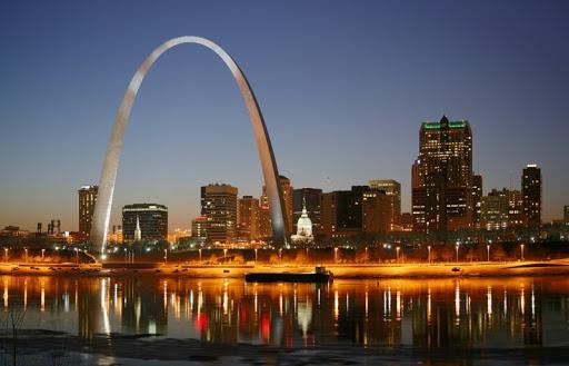 The Gateway Arch St. Louis Missiouri
