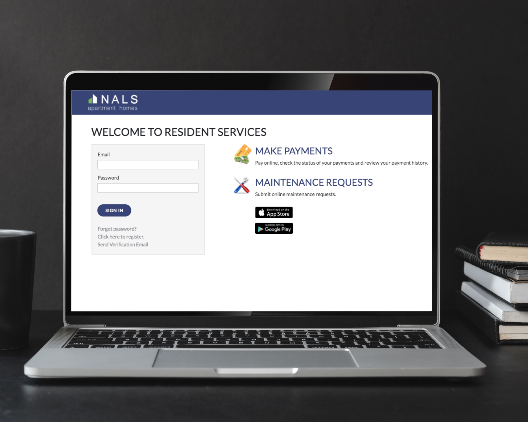 NALS Apartments Online Resident Services
