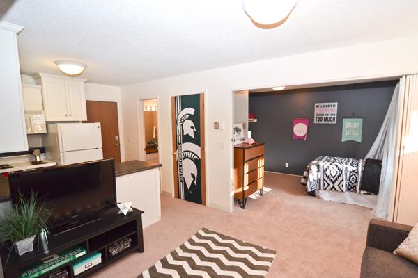 University Villa Apartments | East Lansing Apartments Near Michigan State University