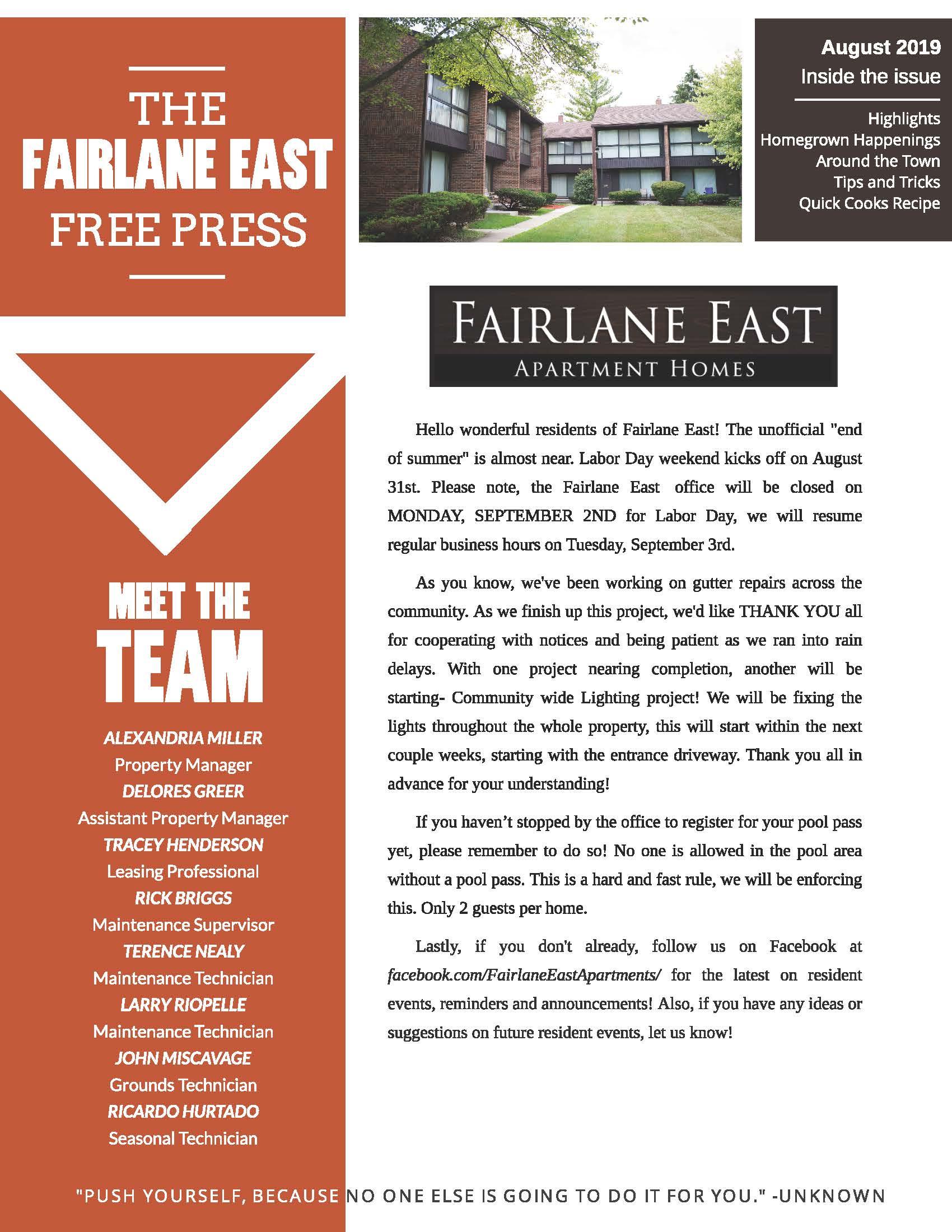 Fairlane East | Apartments in Dearborn, MI |