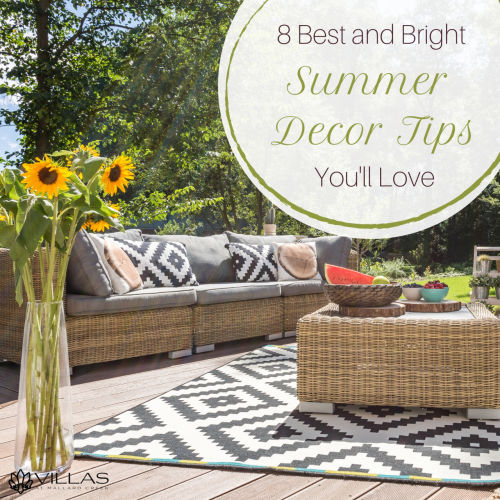 8 Best and Bright Summer Décor Tips You'll Love   Villas at Mallard Creek Apartments