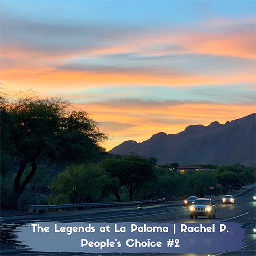 Sunset at The Legends of La Paloma Apartments