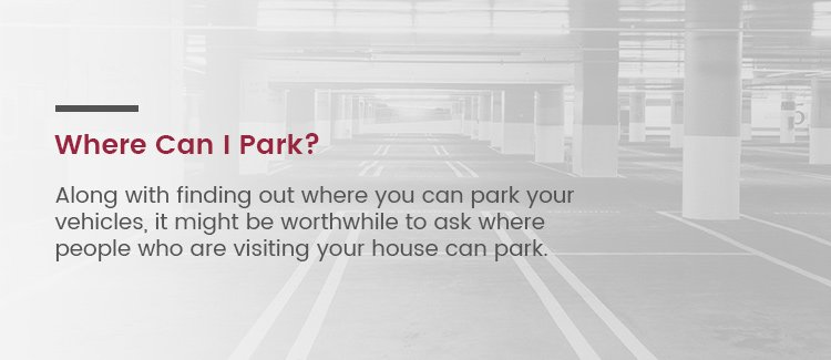 Where to Park In A Townhouse