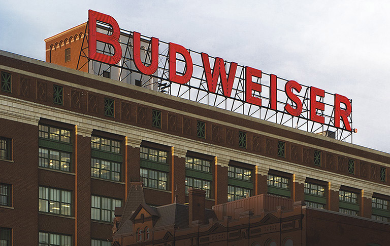anheuser busch brewery st louis missiouri