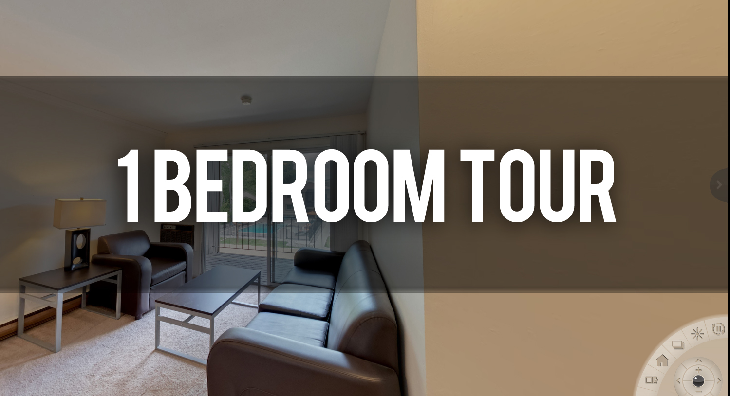 Take a Virtual Tour 1 Bedroom Apartment at 731 Burcham