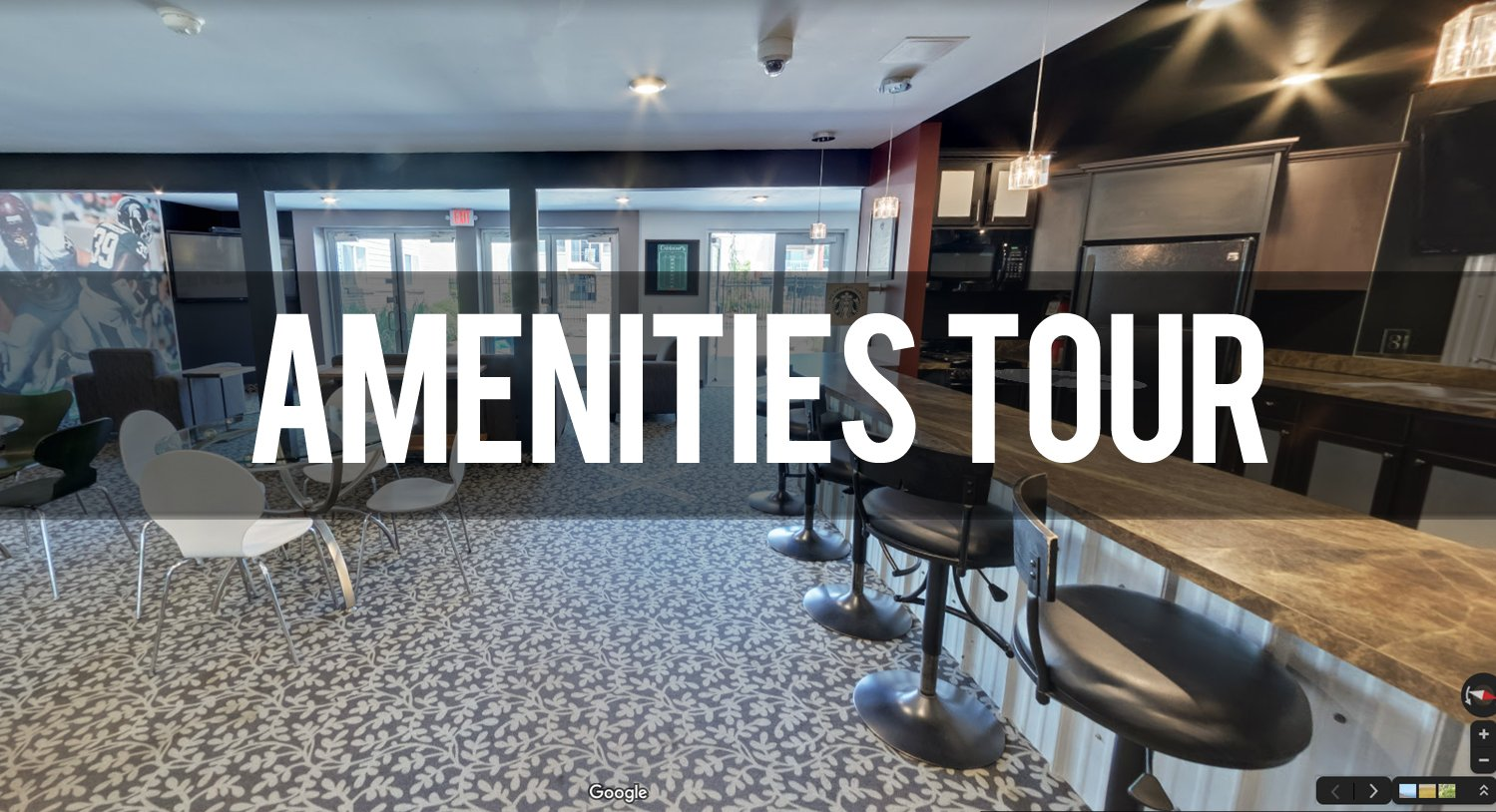 Virtual Tour of Amenities at Capitol Villa Apartments in East Lansing