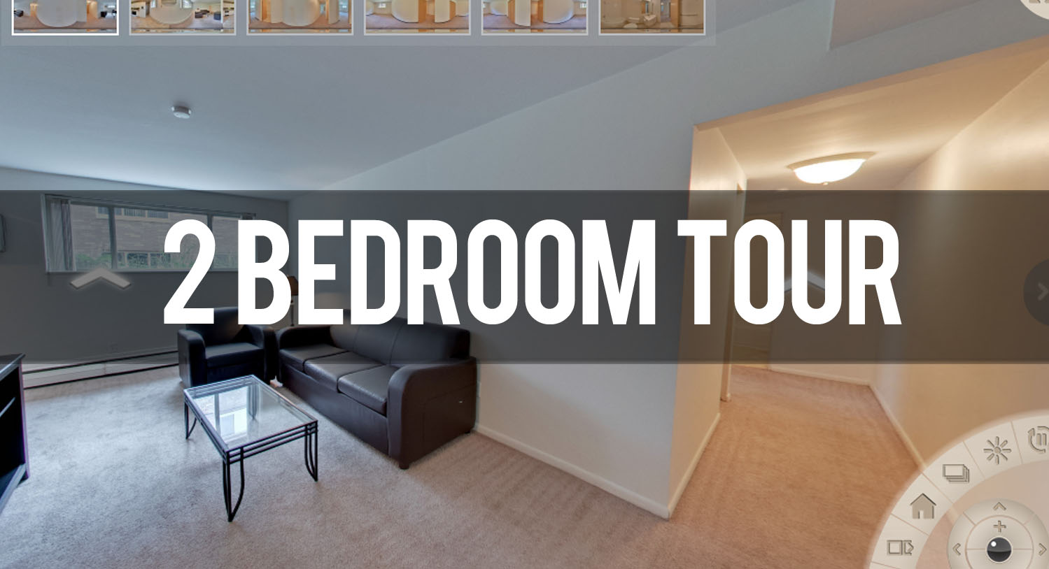 Virtual Tour of 2 Bedroom at Beechwood Apartments