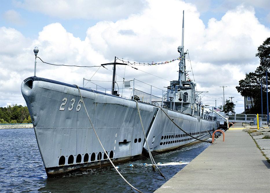 uss silversides submarine museum muskegon michigan