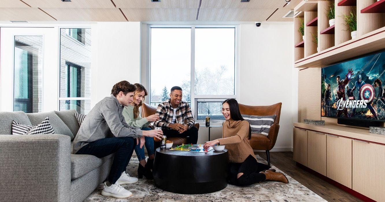 Indoor Lounge Southpark Amenities