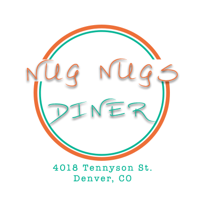 Nug Nugs Diner Denver, Colorado Logo