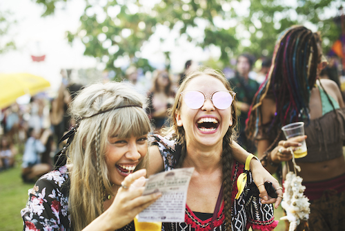 attend local festivals and events