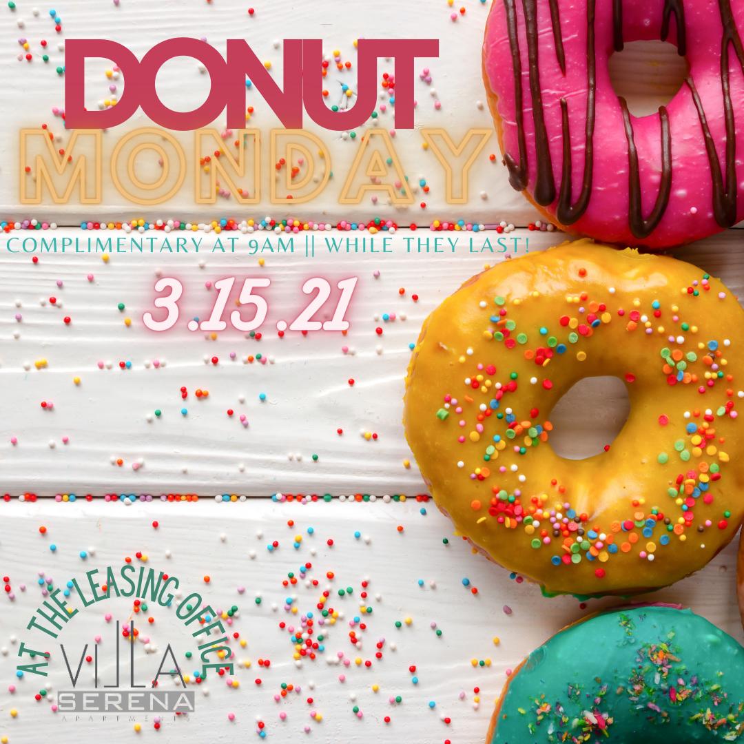 Villa Serena Donut Day