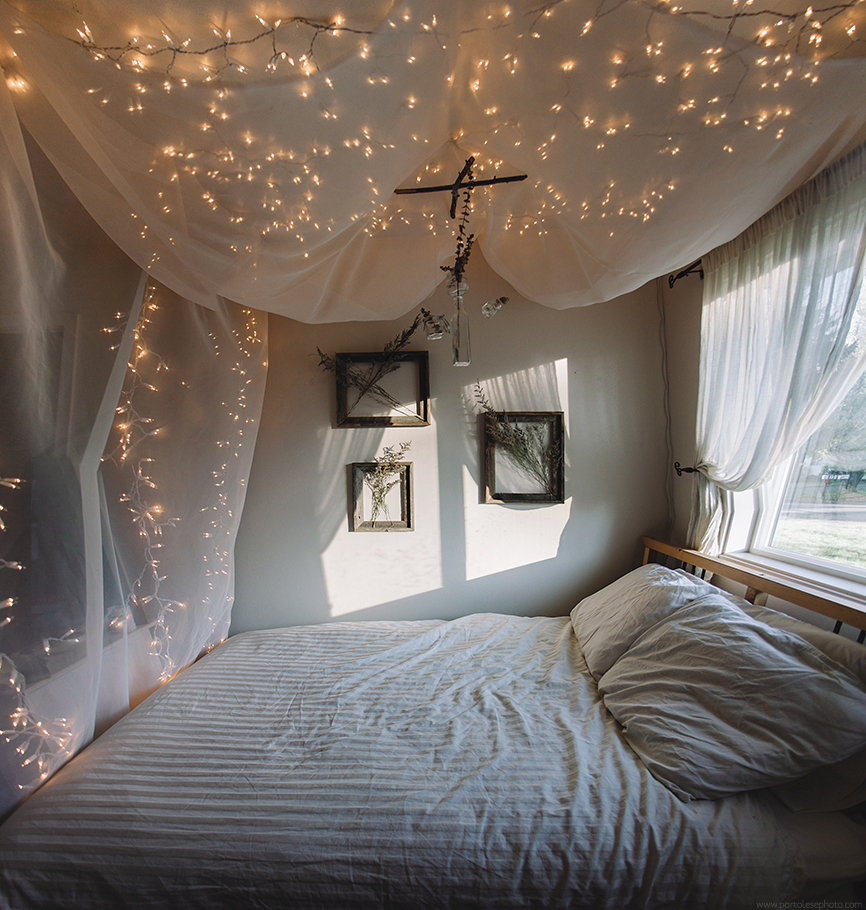 sound proof canopy bed