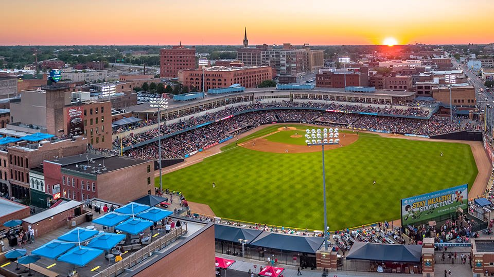 toledo mud hens baseball club ohio