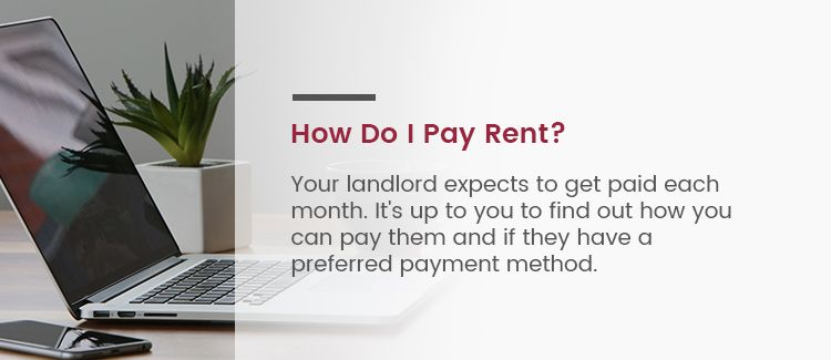 How to Pay Rent At A Townhouse