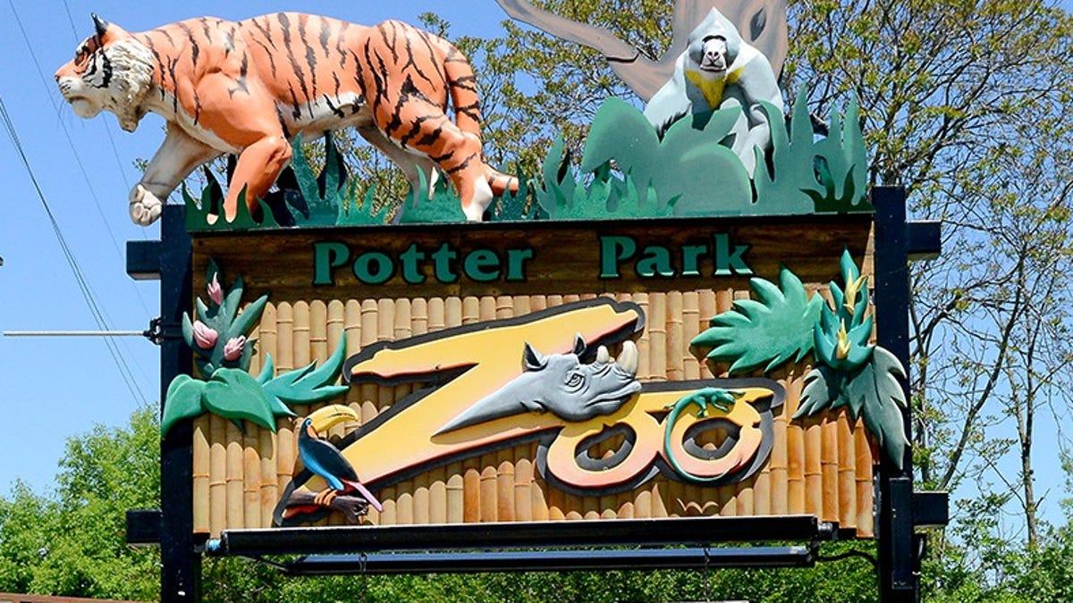 potter park zoo lansing michigan