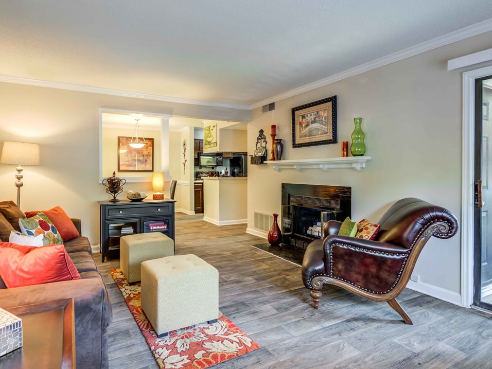 Woodland Park Living Room